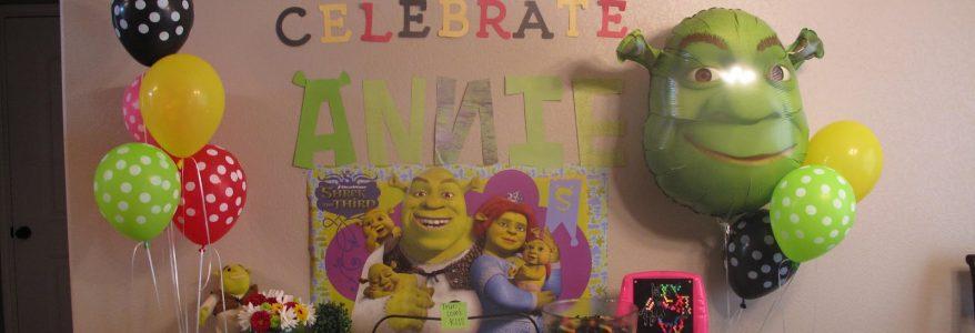 Shrek Birthday Party Planning Ideas